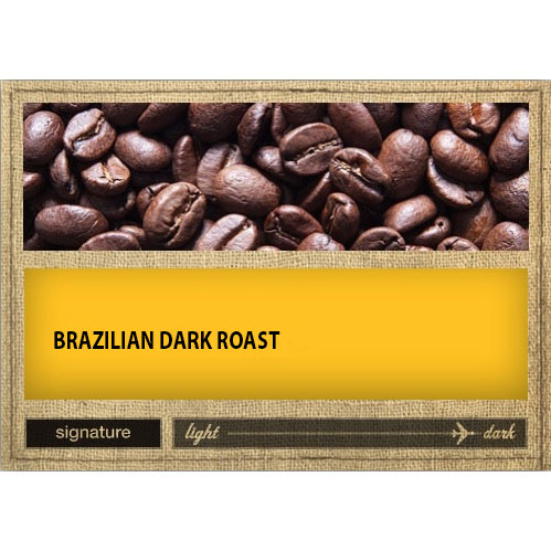 KC Roasterie Brazilian Dark Roast 4oz thumbnail