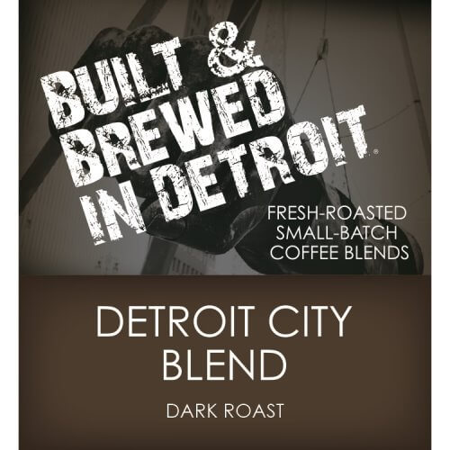 Built & Brewed Detroit City Whole Bean Retail Pack thumbnail