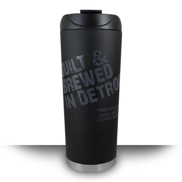 Built & Brewed Traveler Tumbler 16oz thumbnail