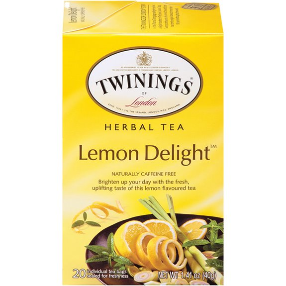 Twining's Lemon Delight Herbal Tea 20ct thumbnail
