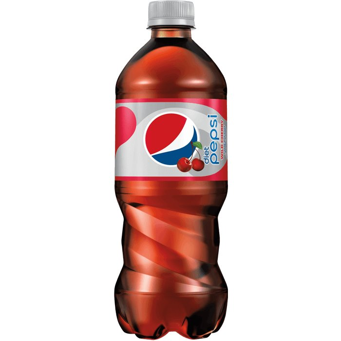 Diet Pepsi Cherry 20oz thumbnail