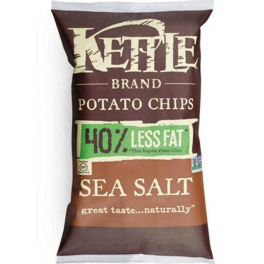Kettle Reduced Fat Chips Salt/Vinegar thumbnail