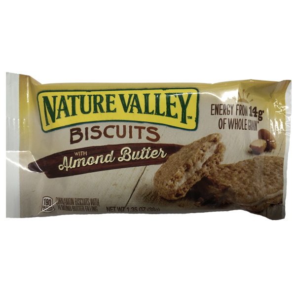 Nature Valley Almond Butter Biscuits thumbnail