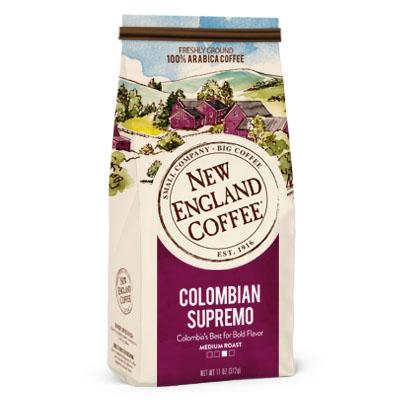 New England Coffee Colombian 14oz thumbnail