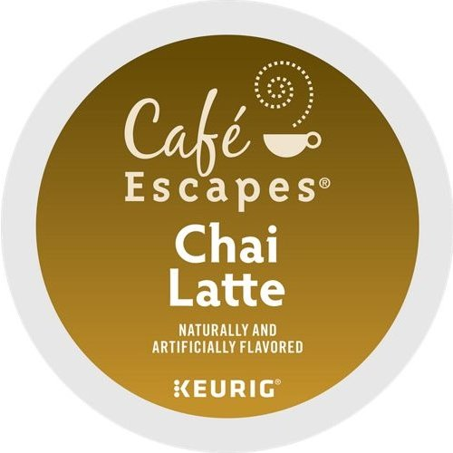 K-Cup Cafe Escapes Chai Latte thumbnail