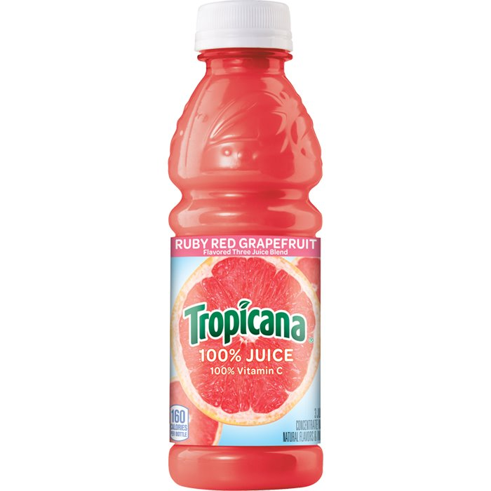 Tropicana Ruby Red Grapefruit 10oz thumbnail