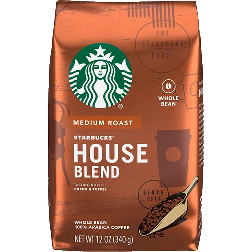 Starbucks Whole Bean House Blend thumbnail