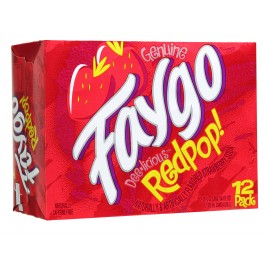 Faygo Red Pop Soda 12oz thumbnail