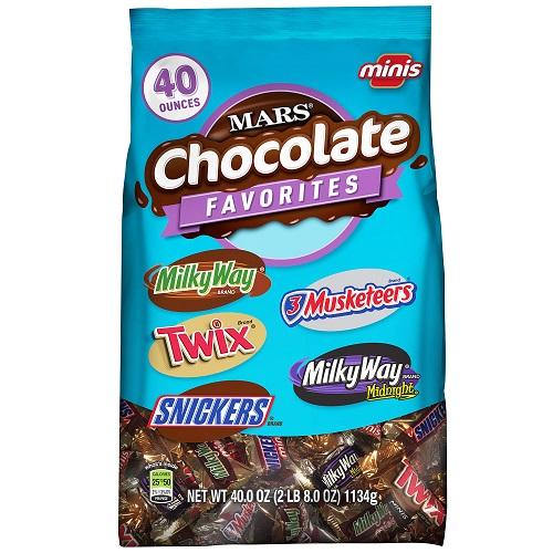 Chocolate Miniatures Variety Bag thumbnail
