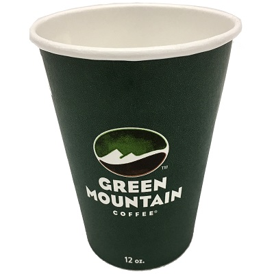 10oz Green Mtn Paper Hot Cup thumbnail