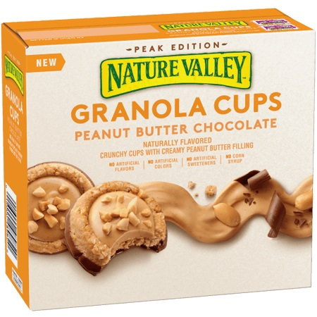 Nature Valley Granola Cups Peanut Butter & Chocolate thumbnail