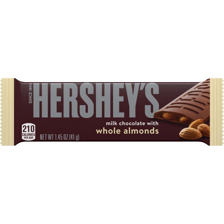 Hershey Milk Choc w/Almond LSC thumbnail