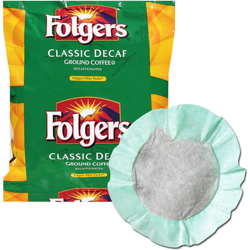 Folgers Filter Pack Decaf 40/.9oz thumbnail