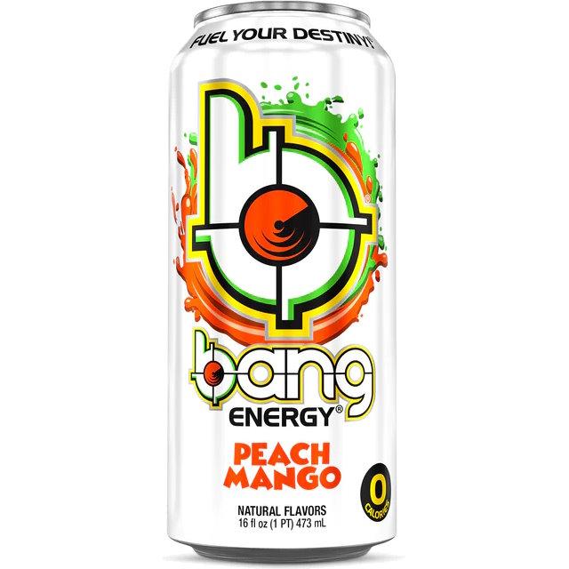 VPX Bang Peach Mango 16oz thumbnail