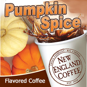 New England Coffee Pumpkin Spice 2.5oz thumbnail