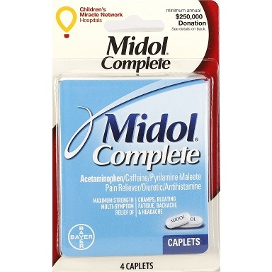 Midol Complete 4 Caplets thumbnail