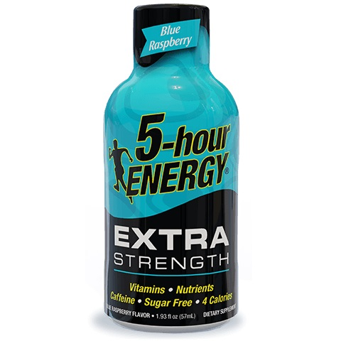5 Hour Energy Extra Strength Blue Raspberry 1.93oz thumbnail