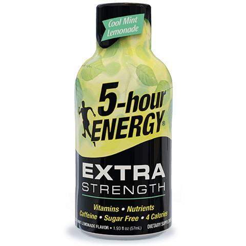 5 Hour Energy Extra Strength Cool Mint Lemonade 1.93oz thumbnail