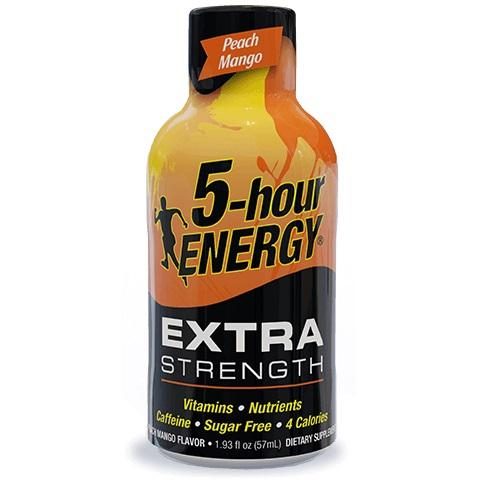 5 Hour Energy Extra Strength Peach Mango 1.93oz thumbnail