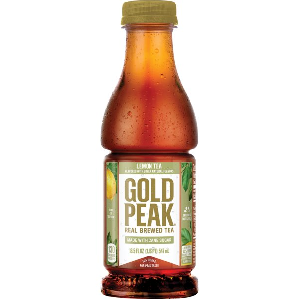 Gold Peak Lemon Tea 18.5oz thumbnail