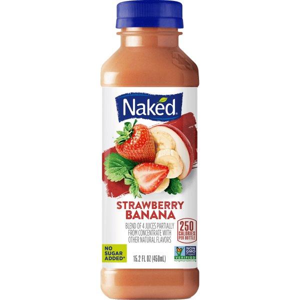 Naked Juice Strawberry Banana 15.2oz thumbnail