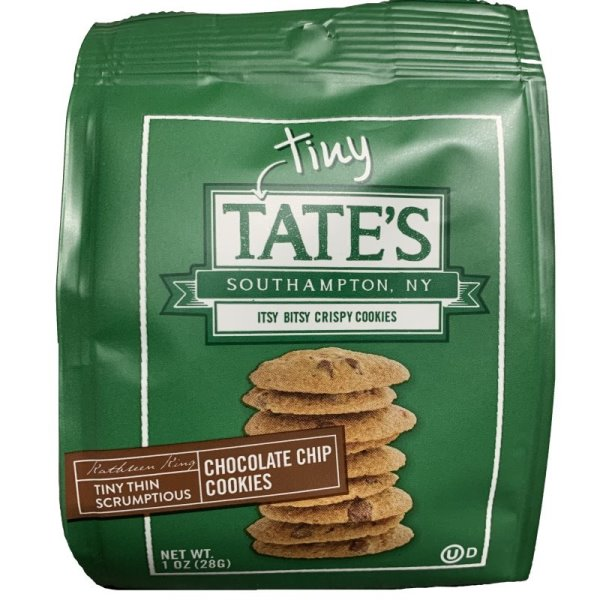Tate's Chocolate Chip Cookies 1oz thumbnail