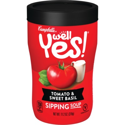 Campbell's Well Yes! Tomato & Sweet Basil Soup thumbnail