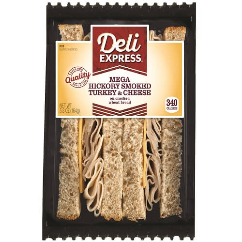 Deli Express Turkey & Cheese Wedge thumbnail