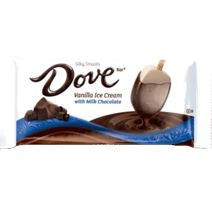 Dove Vanilla Milk Chocolate Ice Cream thumbnail