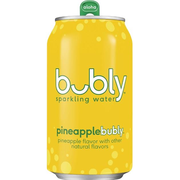 Bubly Sparkling Pineapple 12oz thumbnail