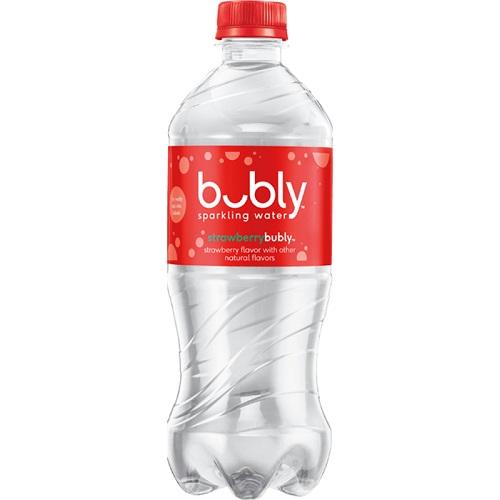 Bubly Water Strawberry 20oz thumbnail
