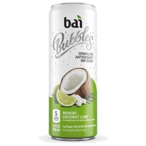 BAI Bubbles Waikiki Coconut Lime 12oz thumbnail
