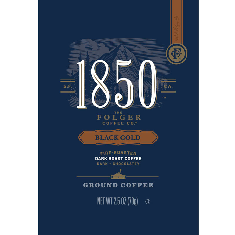 Folgers 1850 Black Gold 2.5oz Frac Pack thumbnail