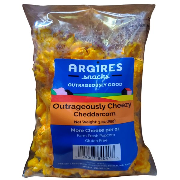 Argires Cheddar Cheese Popcorn thumbnail