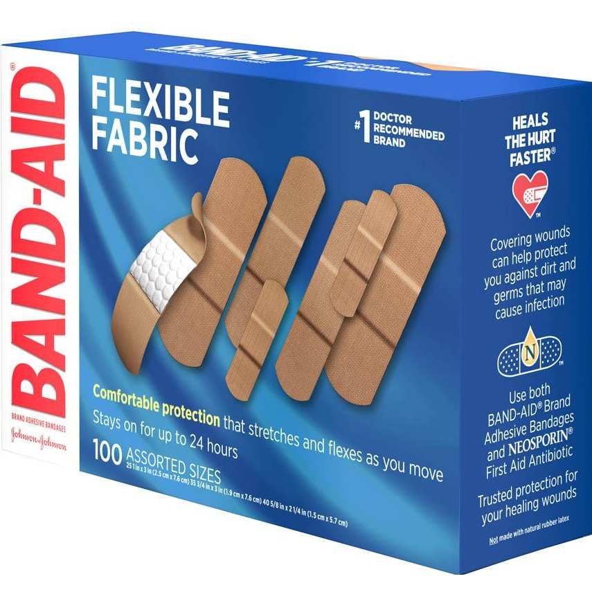 Band-Aid Flex Bandages Assorted 100ct thumbnail