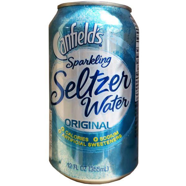 Canfields Seltzer Water 12oz thumbnail