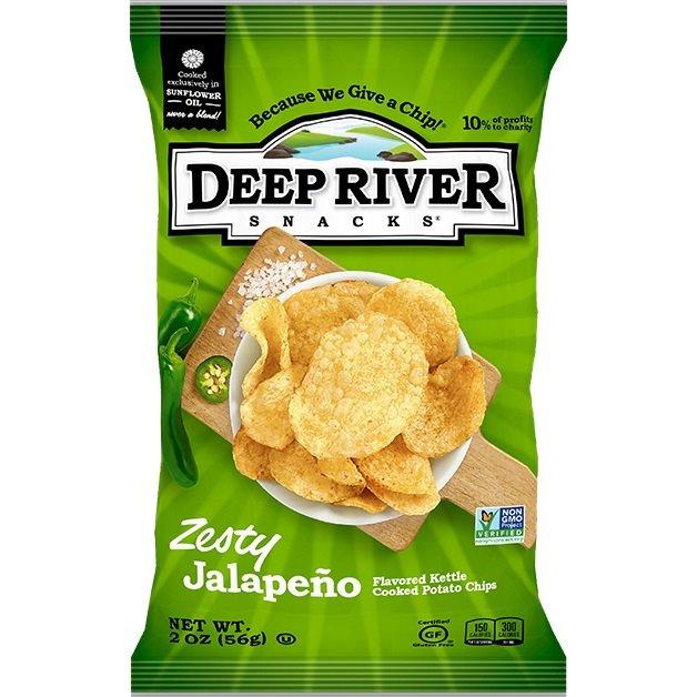 Deep River Zesty Jalapeno Kettle Chip 2oz thumbnail