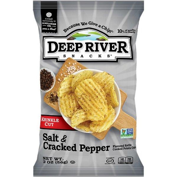 Deep River Salt & Pepper Kettle Chip 2oz thumbnail