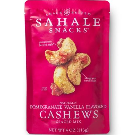 Sahale Cashews Pomegranate Vanilla Glaze Mix thumbnail