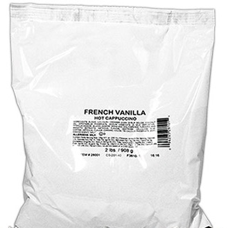 White Bear French Vanilla Cappuccino 2lb thumbnail