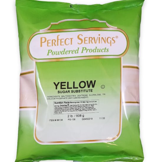 Perfect Serv Sugar Yellow 3/2bag thumbnail