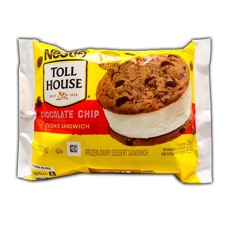Nestle Tollhouse Chocolate Chip Cookie Sandwich thumbnail