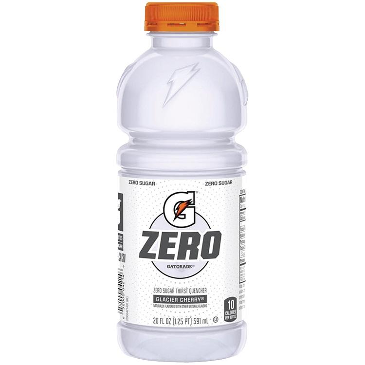 Gatorade Glacier Cherry Zero 20oz thumbnail