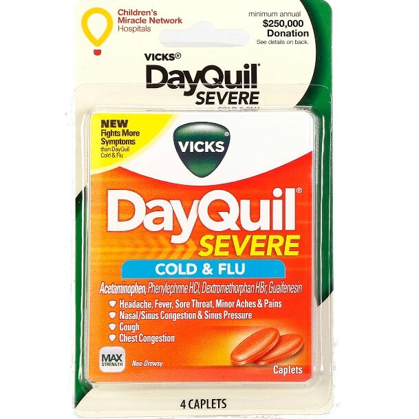 DayQuil Severe 4-Capsules thumbnail