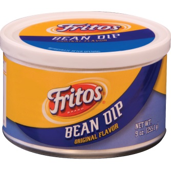 Fritos Bean Dip Can 3.125 oz thumbnail