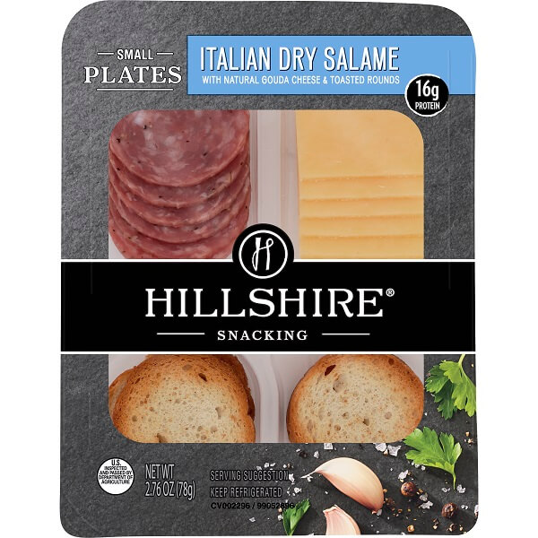 Hillshire Snacking Italian Dry Salame with Gouda 2.76oz thumbnail