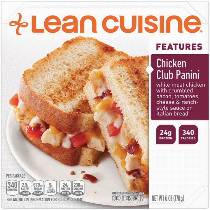 Lean Cuisine Chicken Club Panini thumbnail