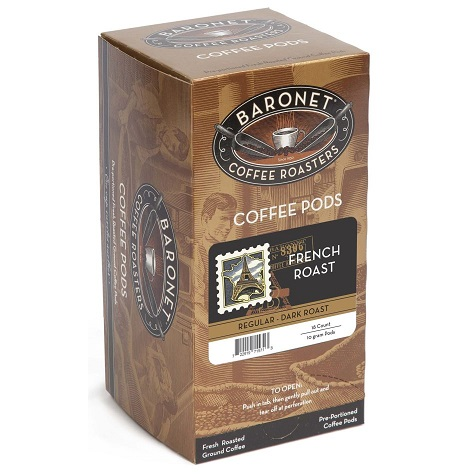 Baronet French Roast Pods thumbnail