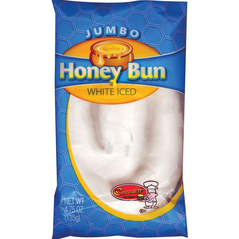 Cloverhill Jumbo Iced Honey Bun thumbnail