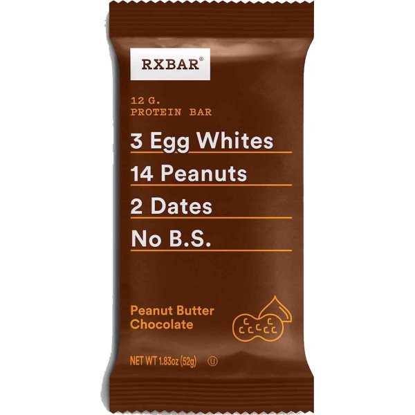 RxBar Peanut Butter Chocolate thumbnail
